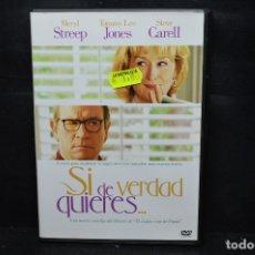 Cine: SI DE VERDAD QUIERES - DVD. Lote 176342885