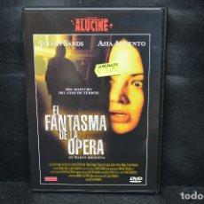 Cine: EL FANTASMA DE LA OPERA - DVD. Lote 176354643