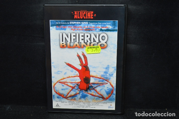 INFIERNO BLANCO - DVD (Cine - Películas - DVD)