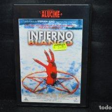 Cine: INFIERNO BLANCO - DVD. Lote 176354783