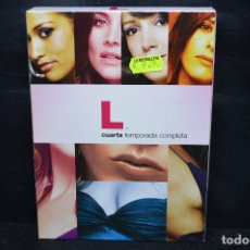 Cine: L - DVD CUARTA TEMPORADA COMPLETA . Lote 176355417