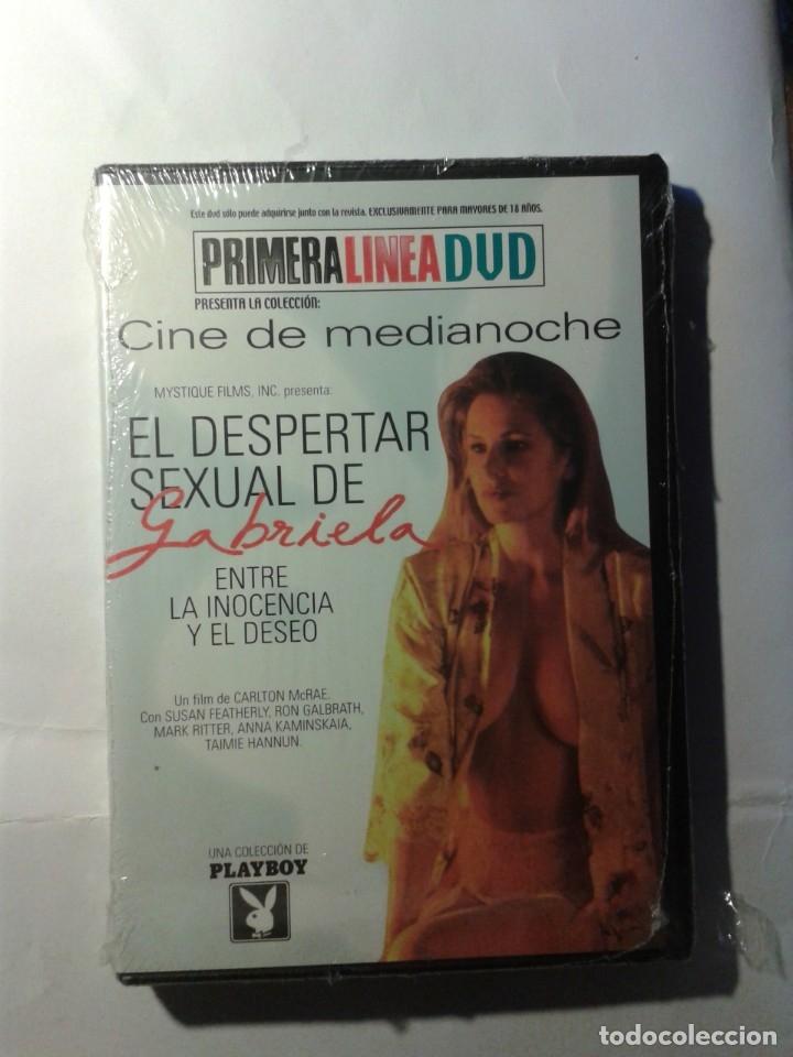 EL DESPERTAR SEXUAL DE GABRIELA DVD NUEVO (Cine - Películas - DVD)