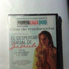 Cine: EL DESPERTAR SEXUAL DE GABRIELA DVD NUEVO. Lote 176356017