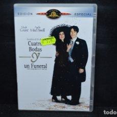 Cine: CUATRO BODAS Y UN FUNERAL - DVD. Lote 176356073