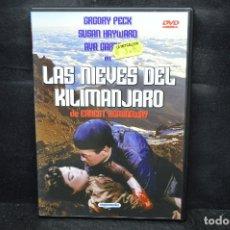 Cine: LAS NIEVES DEL KILIMANJARO - DVD. Lote 176364764