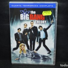 Cine: THE BIG BANG THEORY - DVD CUARTA TEMPORADA COMPLETA . Lote 176369003