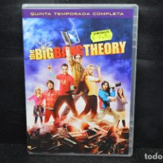 Cine: THE BIG BANG THEORY - DVD QUINTA TEMPORADA COMPLETA . Lote 176369535