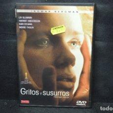 Cine: GRITOS Y SUSURROS - DVD. Lote 176373409