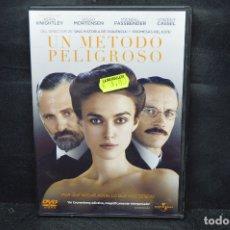 Cine: UN METODO PELIGROSO - DVD. Lote 176373525