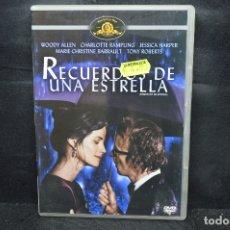Cine: RECUERDOS DE UNA ESTRELLA - DVD. Lote 176377885