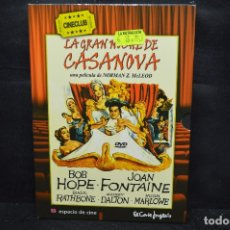 Cine: LA GRAN NOCHE DE CASANOVA - DVD. Lote 176378202