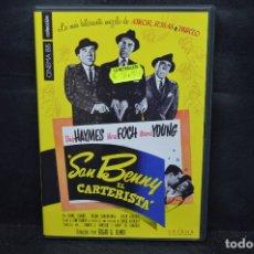Cine: SAN BENNY - EL CARTERISTA - DVD. Lote 176378345