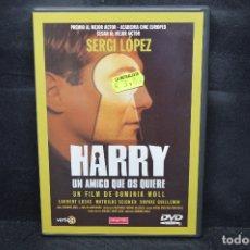 Cine: HARRY UN AMIGO QUE OS QUIERE - DVD. Lote 176378450