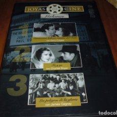 Cine: JOYAS DEL CINE . 3 PELICULAS - DVD Nº 9 - GALANES - PEDIDO MINIMO 6 EUROS. Lote 176421205