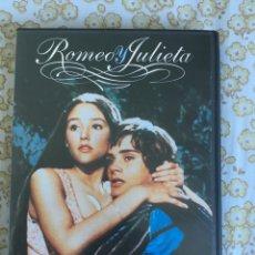 Cine: DVD ROMEO Y JULIETA. Lote 176484975