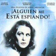 Cine: ALGUIEN ME ESTA ESPIANDO - DVD NUEVO Y PRECINTADO DESCATALOGADO - CON SLIPCOVER DE CARTON. Lote 176506494