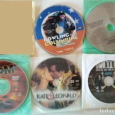 Cine: LOTE DE 5 PELICULAS EN DVD, RPM, KATE & LEOPOLD, MEN IN BLACK II, SHERLOCK HOLMES, BOWLING FOR COLUM. Lote 176508412