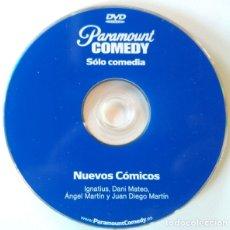 Cine: DVD, PARAMOUNT COMEDY SOLO COMEDIA, NUEVOS COMICOS, IGNATIUS, DANI MATEO, ANGEL MARTIN Y JUAN DIEGO. Lote 176511335