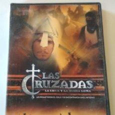 Cine: DOCUMENTAL EN DVD, LAS CRUZADAS LA CRUZ Y LA MEDIA LUNA, CANAL HISTORIA. Lote 176515135
