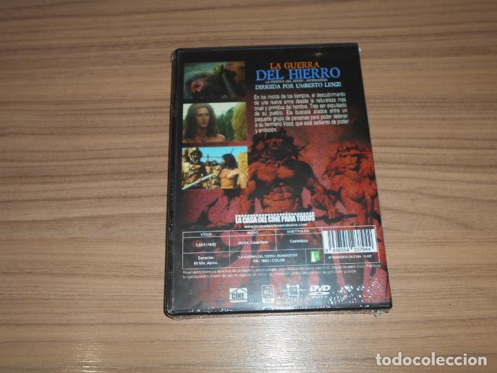 Cine: La GUERRA del HIERRO DVD de UMBERTO LENZI Nueva PRECINTADA - Foto 2 - 278687798