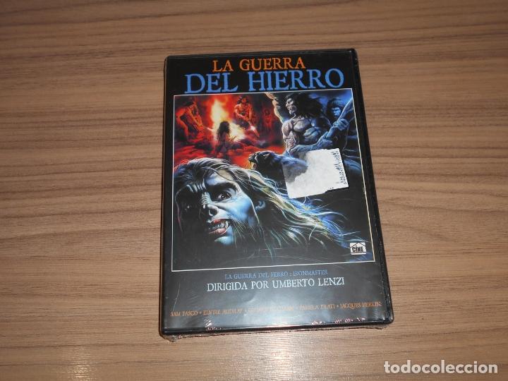 LA GUERRA DEL HIERRO DVD DE UMBERTO LENZI NUEVA PRECINTADA (Cine - Películas - DVD)