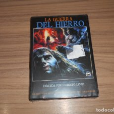 Cine: LA GUERRA DEL HIERRO DVD DE UMBERTO LENZI NUEVA PRECINTADA. Lote 278687798