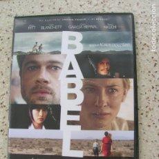 Cine: DVD PELICULA BABEL CAJA FINA. Lote 176559089