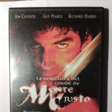Cine: LA VENGANZA DEL CONDE DE MONTECRISTO JIM CAVIEZEL DVD . Lote 176602343