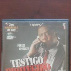 Cine: TESTIGO PROTEGUIDO. DVD. Lote 176646414