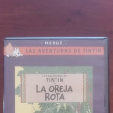 Cine: TINTIN LA OREJA ROTA. DVD. Lote 176646808