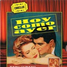 Cine: HOY COMO AYER ROCK HUDSON . Lote 176665778