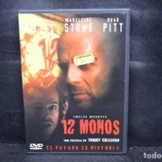 Cinema: 12 MONOS - DVD. Lote 176684058