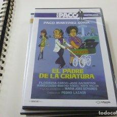 Cine: EL PADRE DE LA CRIATURA- PACO MARTINEZ SORIA - DVD -CAJA DELGADA-N. Lote 176688574