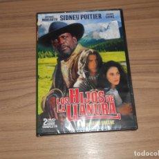 Cine: LOS HIJOS DE LA LLANURA DVD 175 MIN. SIDNEY POITIER NUEVA PRECINTADA. Lote 191227276