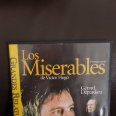 Cine: DVD LOS MISERABLES GÉRARD DEPARDIEU. Lote 176826110