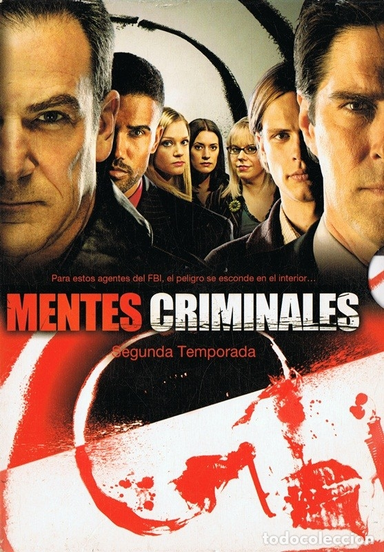 Mentes Criminales Segunda Temporada 6 Discos Comprar Películas En Dvd En Todocoleccion 176843329