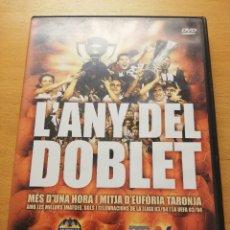 Cine: L'ANY DEL DOBLET. MÉS D'UNA HORA I MITJA D'EUFÒRIA TARONJA. LLIGA 03/04 (VALÈNCIA C.F.) DVD. Lote 176908978