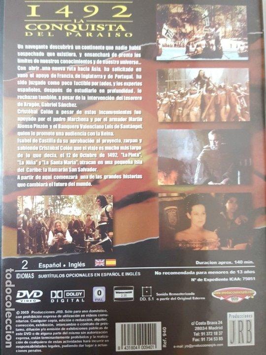 Cine: 1492 LA CONQUISTA DEL PARAISO (DVD) - Foto 2 - 176933995