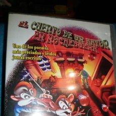Cine: EL CUENTO DE UN RATON EN NOCHEBUENA -DVD-. Lote 176950520