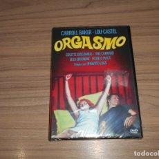 Cine: ORGASMO DVD CARROL BAKER NUEVA PRECINTADA. Lote 190735993