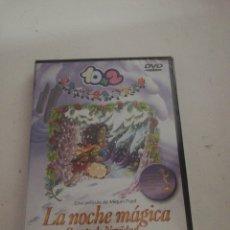 Cine: 10+2 LA NOCHE MÁGICA CUENTO DE NAVIDAD DVD NUEVO. Lote 176983128