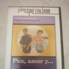 Cine: DVD. PAN, AMOR Y... VITTORIO DE SICA. DESCATALOGADO.. Lote 177052770