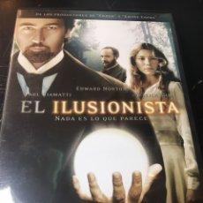 Cine: EL ILUSIONISTA DVD. Lote 177115134