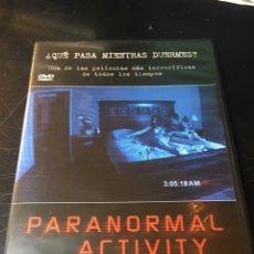 Cine: PARANORMAL ACTIVITY DVD. Lote 177117408