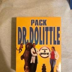 Cine: PACK 5 DVDS - DR. DOLITTLE. Lote 177134822