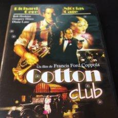Cine: COTTON CLUB DVD. Lote 177249834