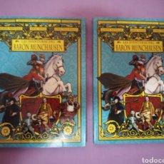 Cine: DVD. LAS AVENTURAS DEL BARÓN DE MUNCHAUSEN. ED. 30 ANIVERSARIO. CON UMA THURMAN. DESCATALOGADO.. Lote 177309012
