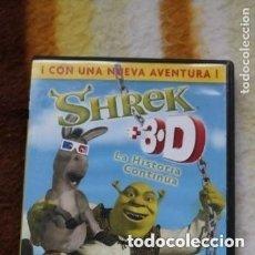 Cine: 2 DVD SHREK ¡ CON UNA NUEVA AVENTURA! . Lote 177327749