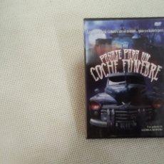 Cine: PASAJE PARA UN COCHE FÚNEBRE - GEORGE BOWERS - DVD. Lote 177331368