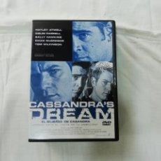 Cine: CASSANDRA'S DREAM - EL SUEÑO DE CASANDRA - ESCRITA Y DIRIGIDA POR WOODY ALLEN - DVD. Lote 177331448
